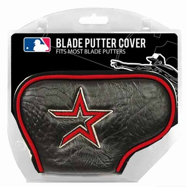 Houston Astros Blade Putter Cover