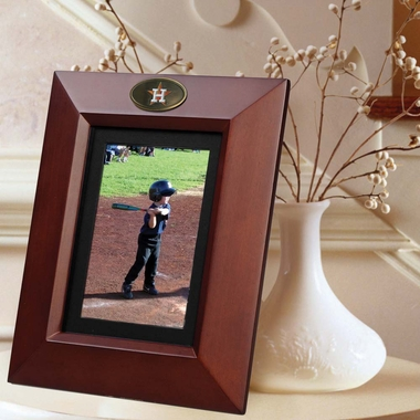 Houston Astros BROWN Portrait Picture Frame