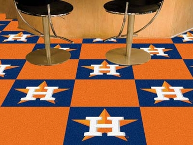 Houston Astros Carpet Tiles