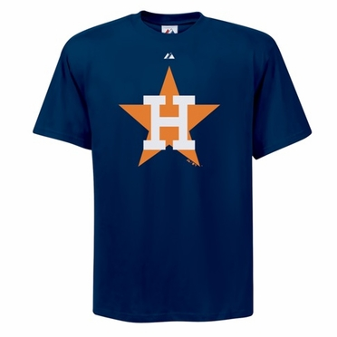 Houston Astros Cooperstown Logo T-Shirt