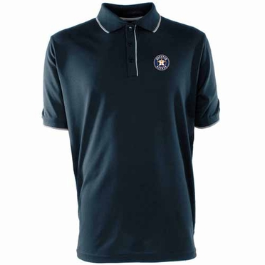 Houston Astros Mens Elite Polo Shirt (Team Color: Navy)