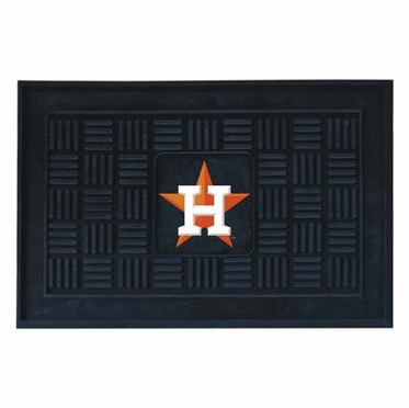 Houston Astros Heavy Duty Vinyl Doormat