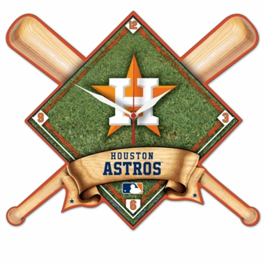 Houston Astros High Definition Wall Clock