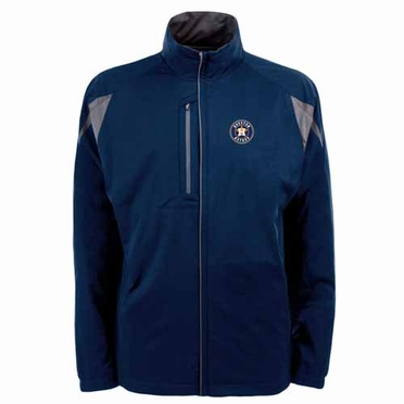 Houston Astros Mens Highland Water Resistant Jacket (Team Color: Navy)