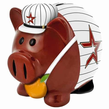 Houston Astros Large Thematic Piggy Bank