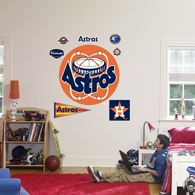 Houston Astros Logo (Throwback) Fathead Wall Graphic