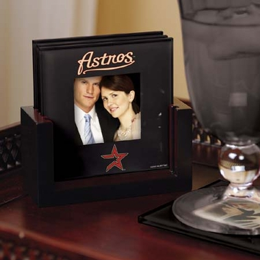 Houston Astros Photo Coaster Set