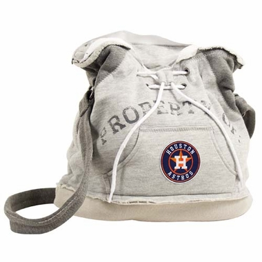 Houston Astros Property of Hoody Duffle