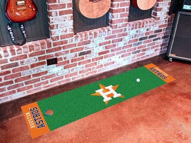 Houston Astros Putting Green Mat