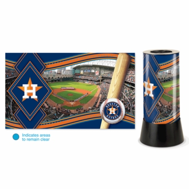 Houston Astros Rotating Lamp