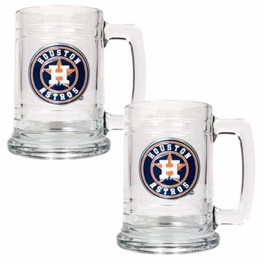 Houston Astros Set of 2 15 oz. Tankards