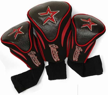 Houston Astros Set of Three Contour Headcovers