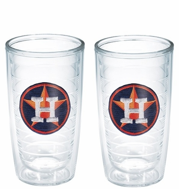 Houston Astros Set of TWO 16 oz. Tervis Tumblers