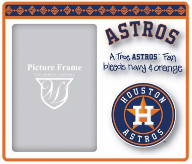 Houston Astros True Fan Picture Frame