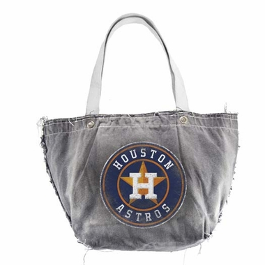 Houston Astros Vintage Tote (Black)