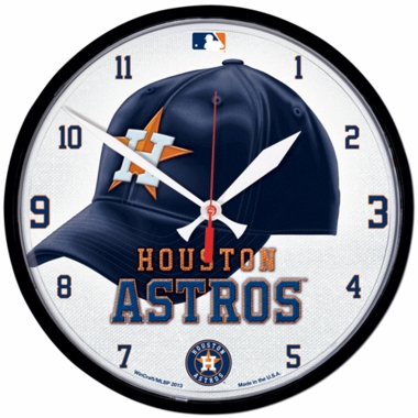 Houston Astros Wall Clock