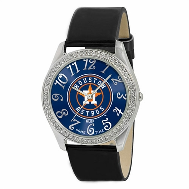 Houston Astros Women's Glitz Watch