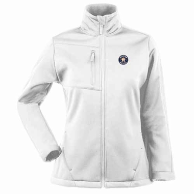 Houston Astros Womens Traverse Jacket (Color: White)
