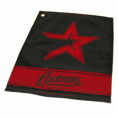 Houston Astros Woven Golf Towel