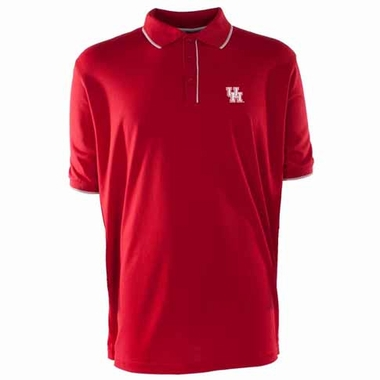 Houston Mens Elite Polo Shirt (Team Color: Red)