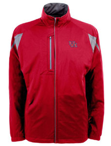 Houston Mens Highland Water Resistant Jacket (Team Color: Red) - Large