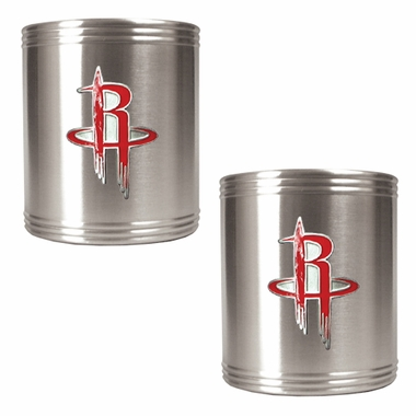 Houston Rockets 2 Can Holder Set