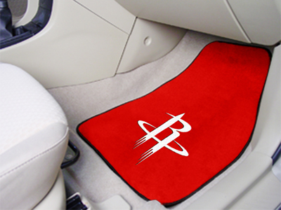 Houston Rockets 2 Piece Car Mats