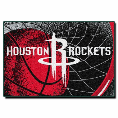 Houston Rockets 40 x 60 Rug