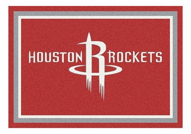 "Houston Rockets 5'4"" x 7'8"" Premium Spirit Rug"
