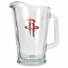 Houston Rockets 60 oz Glass Pitcher