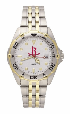 Houston Rockets All Star Mens (Steel Band) Watch