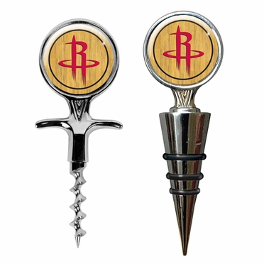 Houston Rockets Corkscrew and Stopper Gift Set