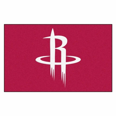 Houston Rockets Economy 5 Foot x 8 Foot Mat