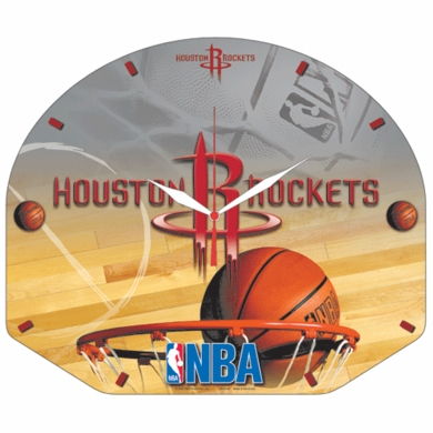 Houston Rockets High Definition Wall Clock