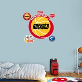 Houston Rockets Wall Decorations