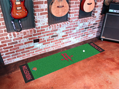 Houston Rockets Putting Green Mat