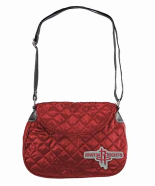 Houston Rockets Quilted Saddlebag
