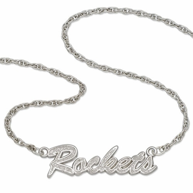 Houston Rockets Script Necklace