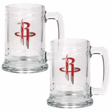 Houston Rockets Set of 2 15 oz. Tankards
