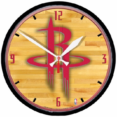 Houston Rockets Wall Clock