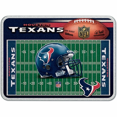 Houston Texans 11 x 15 Glass Cutting Board