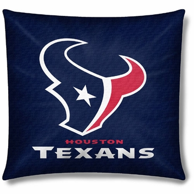Houston Texans 18 Inch Toss Pillow