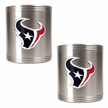 Houston Texans 2 Can Holder Set