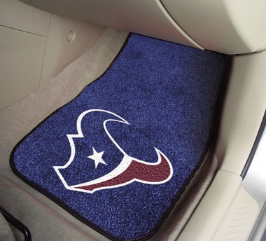 Houston Texans 2 Piece Car Mats