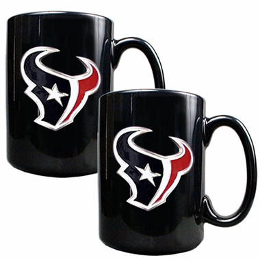 Houston Texans 2 Piece Coffee Mug Set