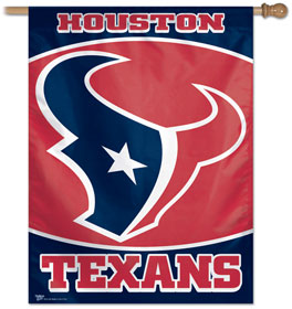 "Houston Texans 27"" x 37"" Banner"
