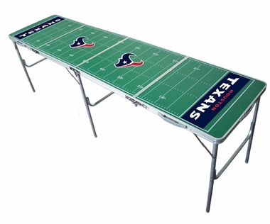 Houston Texans 2x8 Tailgate Table