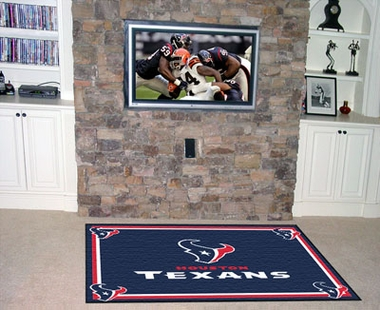 Houston Texans 4 Foot x 6 Foot Rug