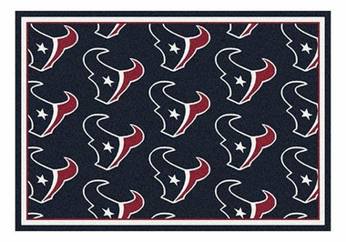 "Houston Texans 5'4"" x 7'8"" Premium Pattern Rug"
