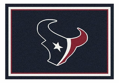 "Houston Texans 5'4"" x 7'8"" Premium Spirit Rug"